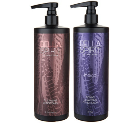 WEN by Chaz Dean Bella Spirit 32oz. Cleansing Conditioner Duo