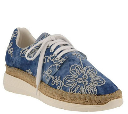 Azura by Spring Step Lace Up Espadrilles - Kacy