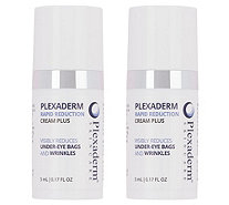 Ships 12/13 Plexaderm Skincare Rapid Reduction Cream PLUS Duo - A365243