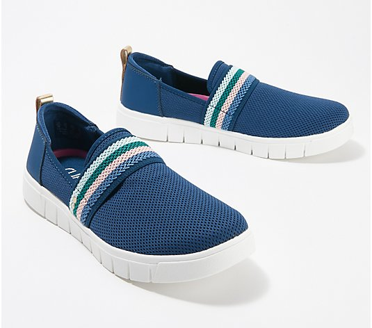 Ryka Perforated Slip-On Shoes - Haze Mesh