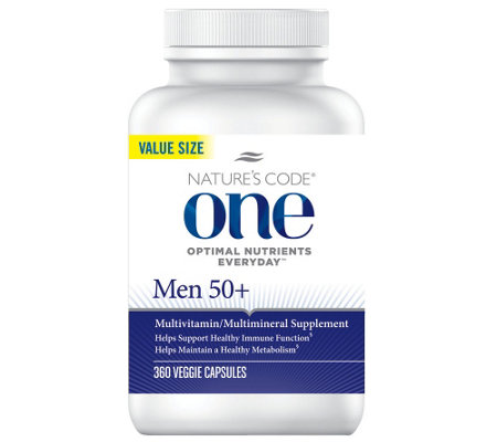 Nature's Code ONE 360 Day Once Daily Men's Multivitamin