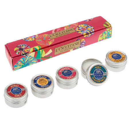 L'Occitane Tiny Tins of Delight Pure Shea 5-pc Auto-Delivery