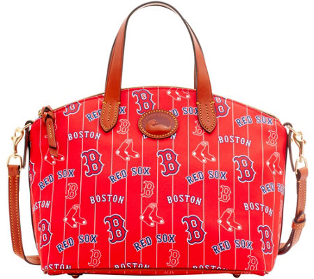 Dooney & Bourke MLB Nylon Red Sox Small Satchel