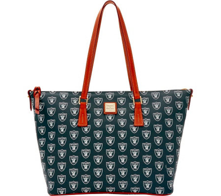 Dooney & Bourke NFL Raiders Shopper