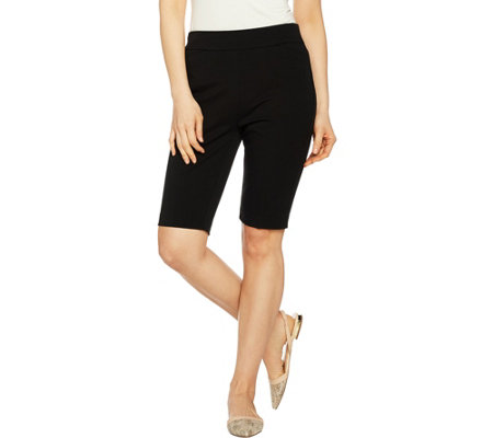 Kelly by Clinton Kelly Pull-on Bermuda Shorts