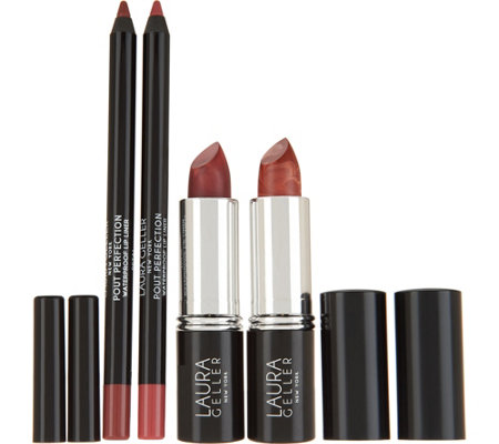 Laura Geller Italian Marble Lipstick Wardrobe Collection