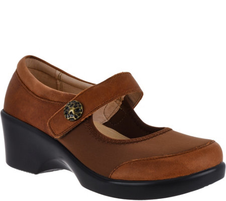 Alegria Dream Fit Leather Mary Janes - Maya