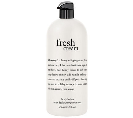 philosophy fresh cream body lotion 32 oz