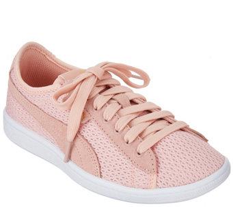 394309b58a41ec PUMA Mesh Lace-Up Sneakers - Vikky Mesh FM - A304944