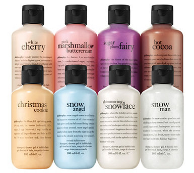 philosophy sweet sleigh ride 8-piece shower gel collection - A341644