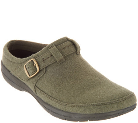 Obuwie damskie Merrell Size 6.5 Leather Mesh Slip On Clogs Khaki Green New Womens Shoes
