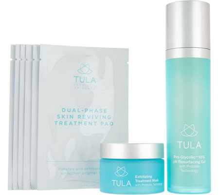 TULA by Dr. Raj Daily & Weekly Resurface and Exfoliate Set Auto-Delivery