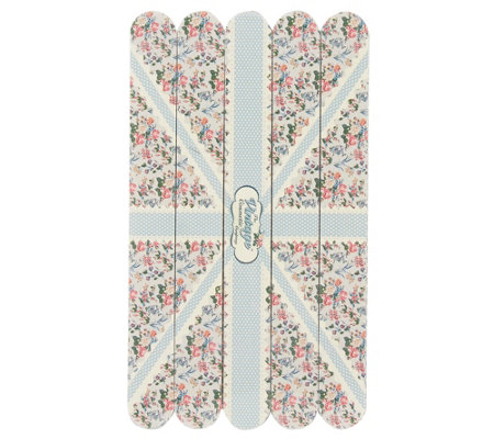 The Vintage Cosmetic Company Emery Board 5-Pack - Blue Flag