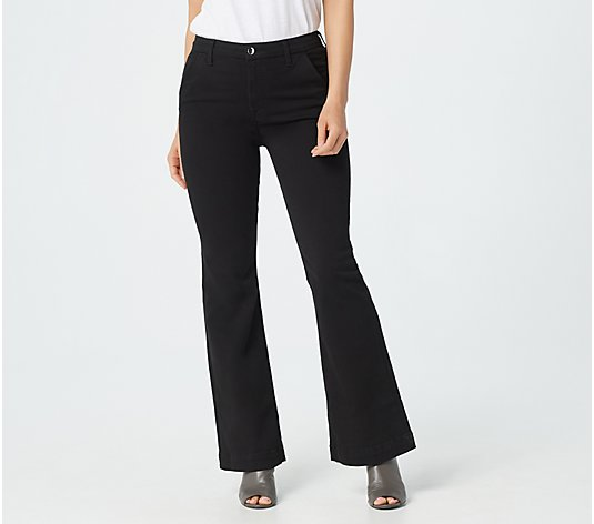 Jen7 by 7 for All Mankind Tailorless Trousers - Black