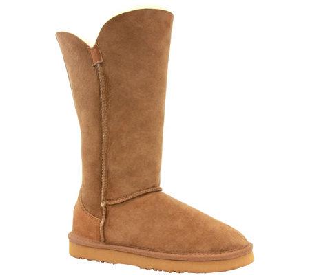 177da3b92b3 Lamo Suede and Sheepskin Boots - Liberty 12