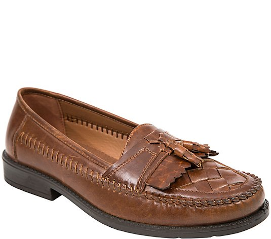 Deer Stags Men's Classic Kiltie Tassel Loafers- Herman