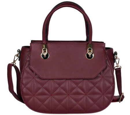 Karla Hanson Florence Quilted Satchel Bag