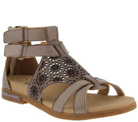 L'Artiste by Spring Step Leather Sandals - Dezra