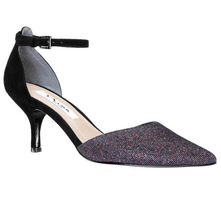 Nina Footwear Ankle Strap Pointed-Toe Pumps - Brenda