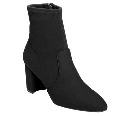 Aerosoles Block-Heel Tailored Ankle Boots - Nikname