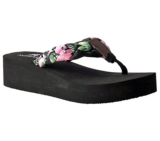 Nomad Braided Thong Sandals - Luau