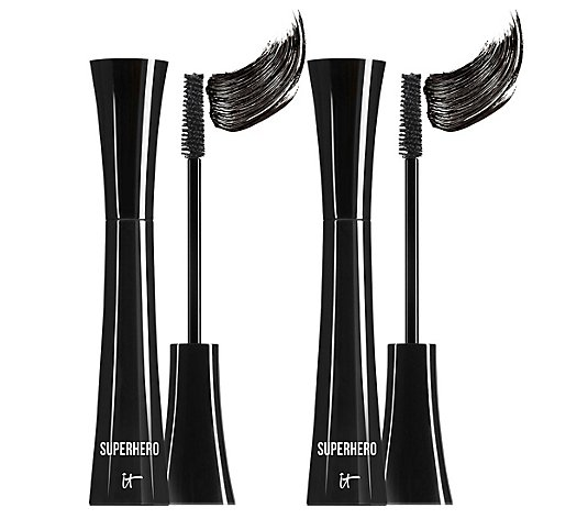 IT Cosmetics Superhero Elastic Stretch Volumizing Mascara Duo