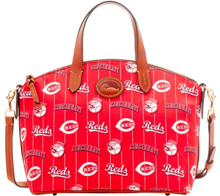 Dooney & Bourke MLB Nylon Reds Small Satchel