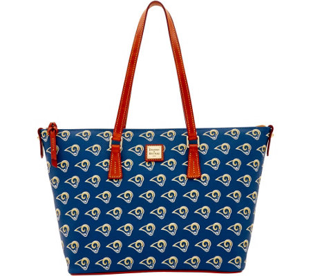 Dooney & Bourke NFL Rams Shopper