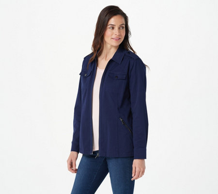 Belle by Kim Gravel Military Jacket