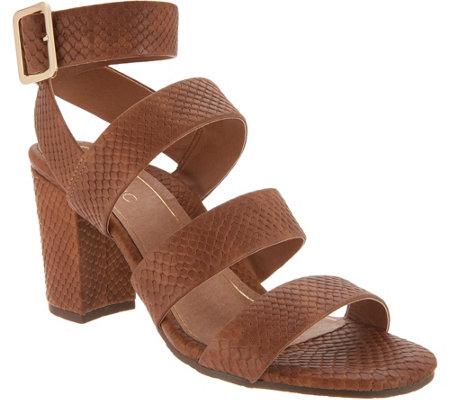 123b6056367 Vionic Suede Block Heel Sandals - Blaire - Page 1 — QVC.com
