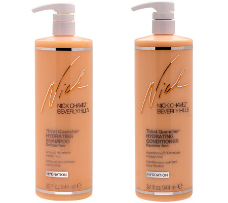 Nick Chavez Thirst Quencher Shampoo and Conditioner