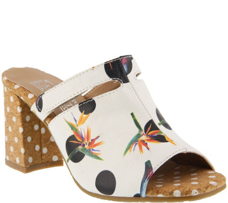 L'Artiste by Spring Step Leather Sandals - Lorenetti