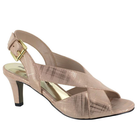 Easy Street Evening Sandals - Cupid