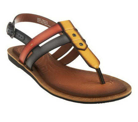96366e489 Clarks Billie Swing Multi-strap Thong Sandals w  Backstrap - Page 1 ...