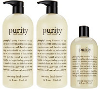 philosophy super-size purity made simple cleanser trio - A288046