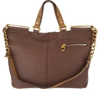 5313780a0669 orYANY Lamb Leather Convertible Tote Handbag -Evangelina - A295146