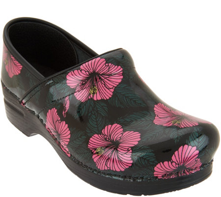 Dansko Professional Patent Leather Clogs