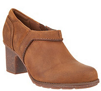Clarks Leather Shooties - Sashlin Aleta - A343946