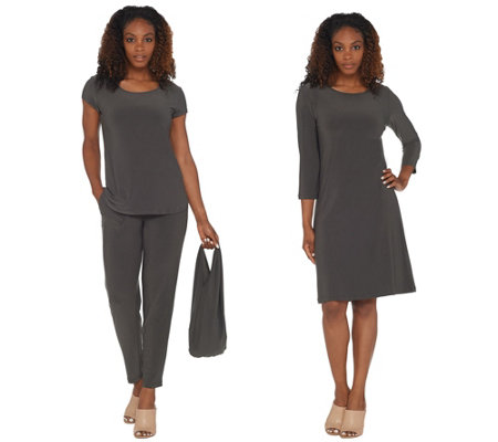 As Is Attitudes By Renee Regular Wardrobe Warrior 3pc Set