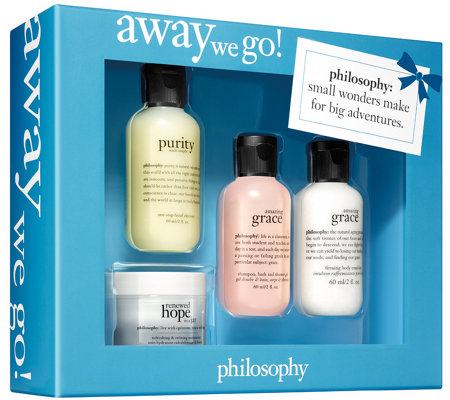 philosophy away we go gift box