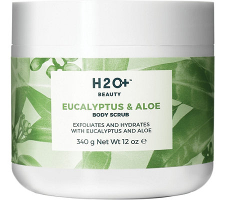 H2O+ Beauty Eucalyptus & Aloe Body Scrub, 12 oz
