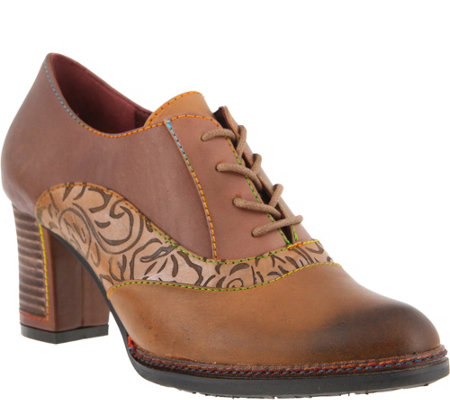 Spring Step L'Artiste Lace Up Oxford Shoes - Lavada