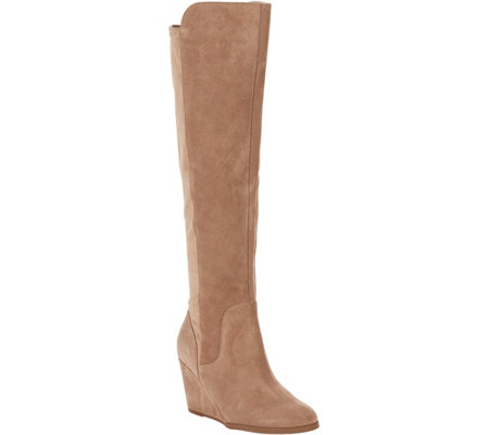 Sole Society Tall Leather Boots - Laila