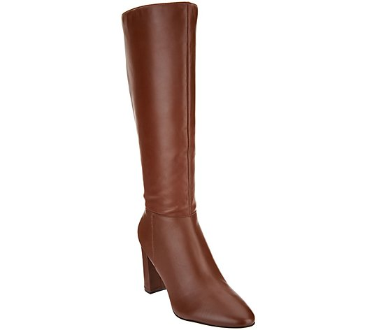 """As Is"" Marc Fisher Leather Tall Shaft Boots-Zimra"