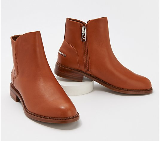 Franco Sarto Leather Booties - Happily
