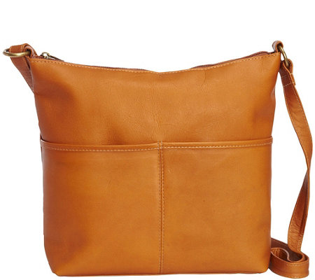 Le Donne Leather Zip-Top Tote - Carefree