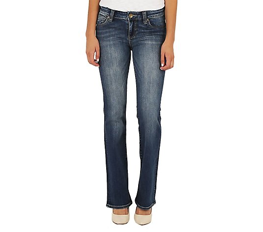 KUT from the Kloth Petite Natalie Bootcut Jeans - Mindsight