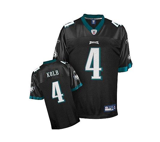 NFL Philadelphia Eagles Kevin Kolb Replica Alternate Jersey - QVC.com