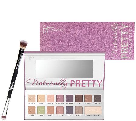 IT Cosmetics The Romantics Naturally Pretty Matte Palette w/Brush