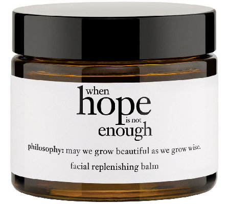 philosophy when hope is not enough 2oz moisturizer